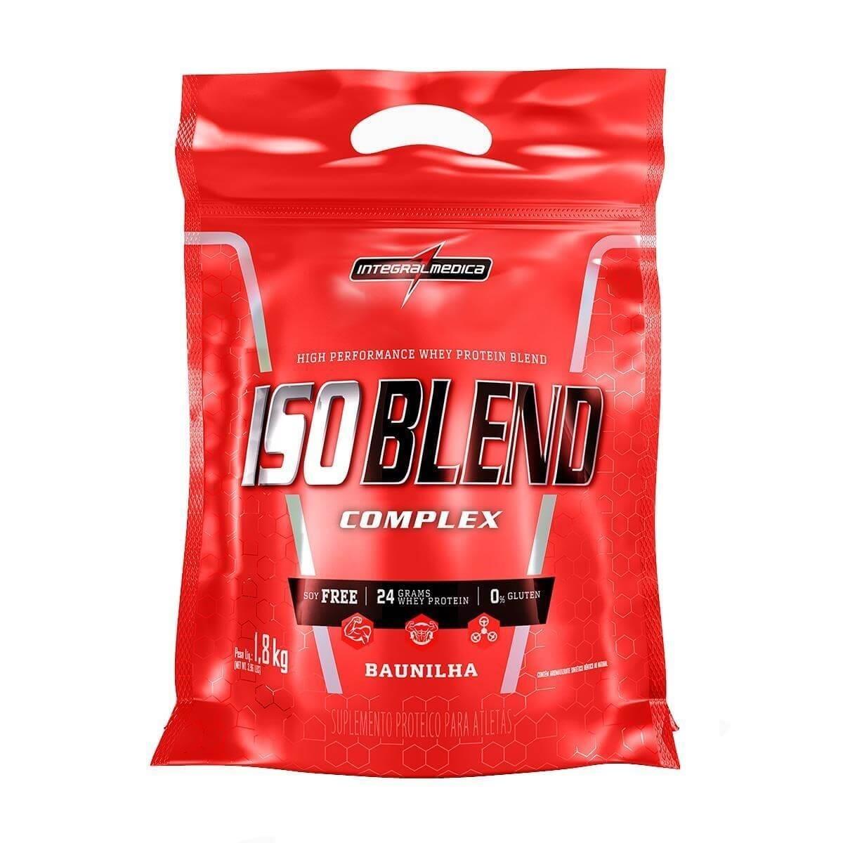 Iso Blend Complex Baunilha 1,800Kg - Integral Medica  - KFit Nutrition