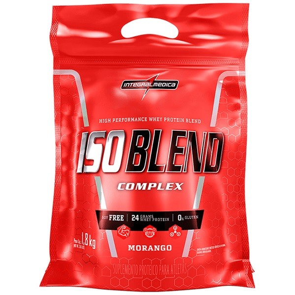 Iso Blend Complex Morango 1,800Kg - Integral Medica  - KFit Nutrition
