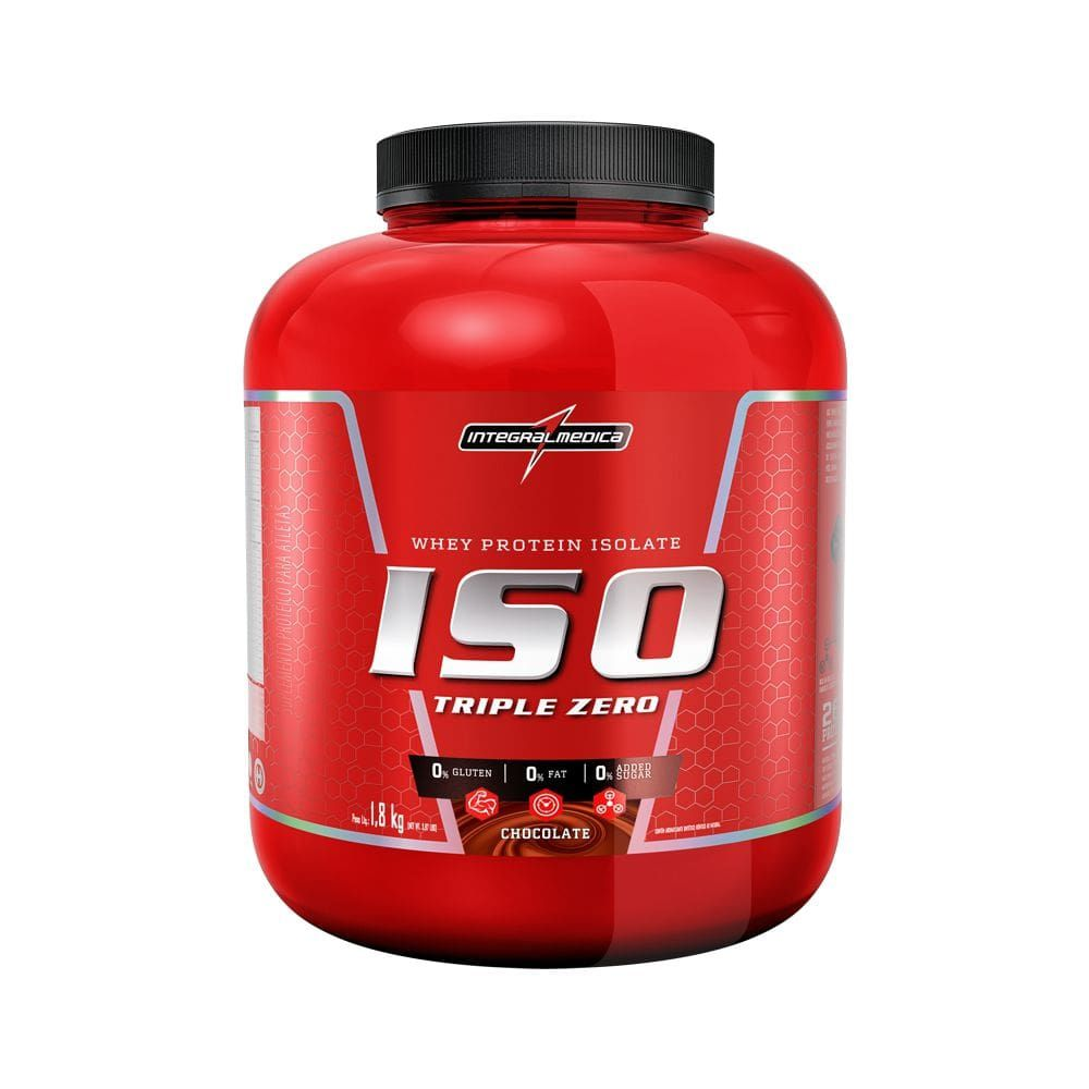 Iso Triple Zero 1,8Kg Chocolate Integral Medica  - KFit Nutrition