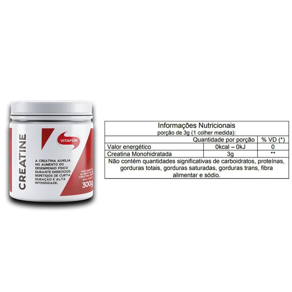 Isofort Baunilha 1.8KG e Creatina 300g - Vitafor  - KFit Nutrition