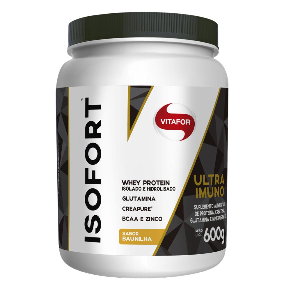 Isofort Ultra Imuno Baunilha 600g - Vitafor  - KFit Nutrition