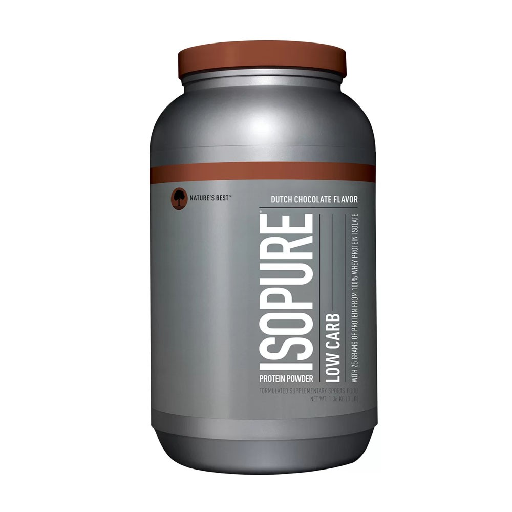"Isopure Low Carb 1.36Kg Duch Chocolate - Natur""s Best  - KFit Nutrition"