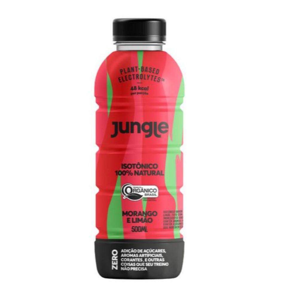 Isotônico 100% Natural e Orgânico Morango e Limão 500ml - Jungle  - KFit Nutrition