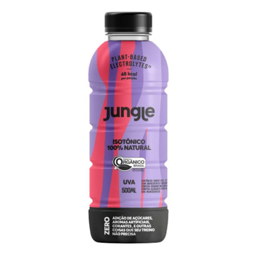 Isotônico 100% Natural e Orgânico Uva 500ml - Jungle  - KFit Nutrition