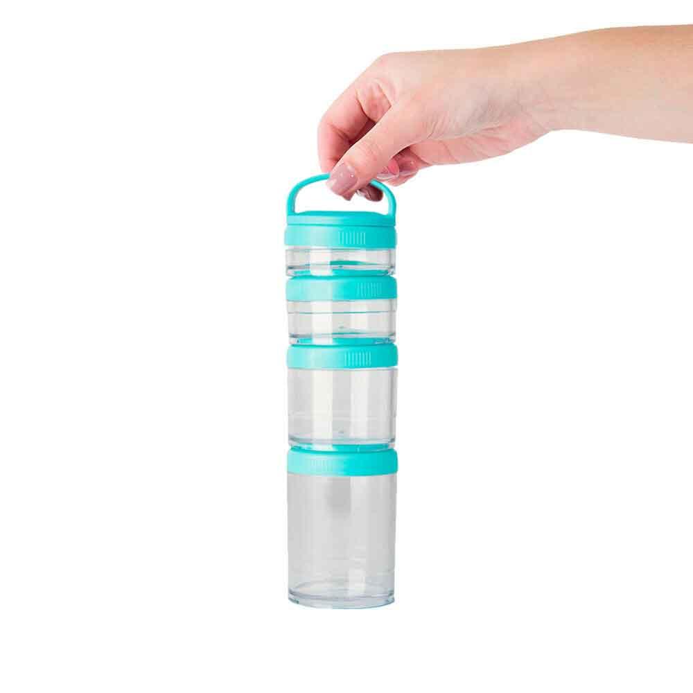 Jogo de Compartimentos Turquesa Mix Connect - Pacco  - KFit Nutrition
