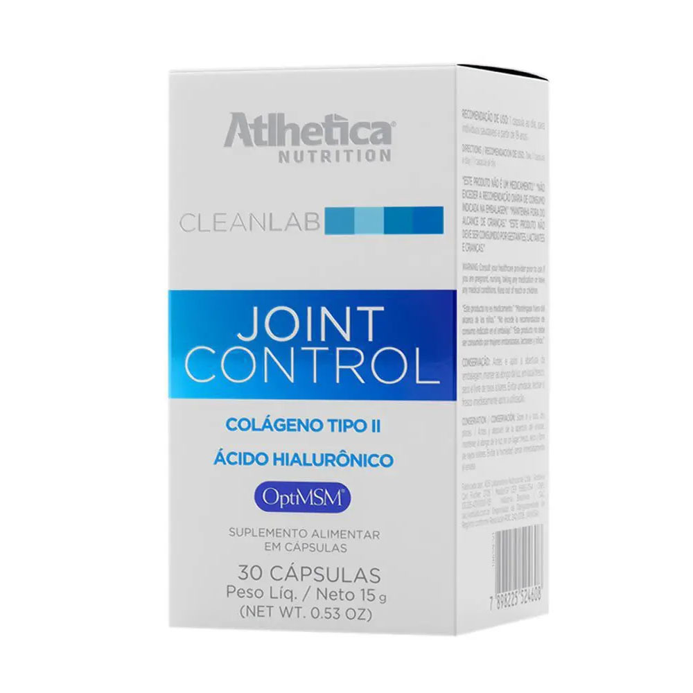 Joint Control Colageno Tipo Ii 30 Caps - Atlhetica  - KFit Nutrition