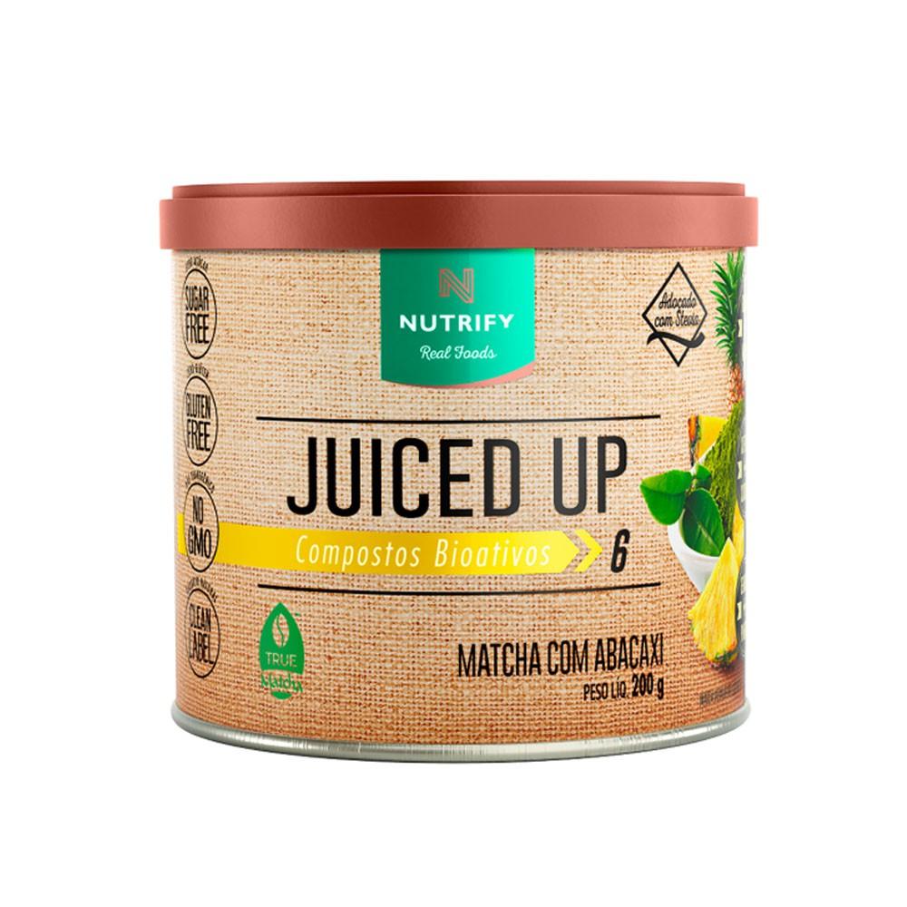 Juiced Up Matcha Com Abacaxi  200g - Nutrify  - KFit Nutrition