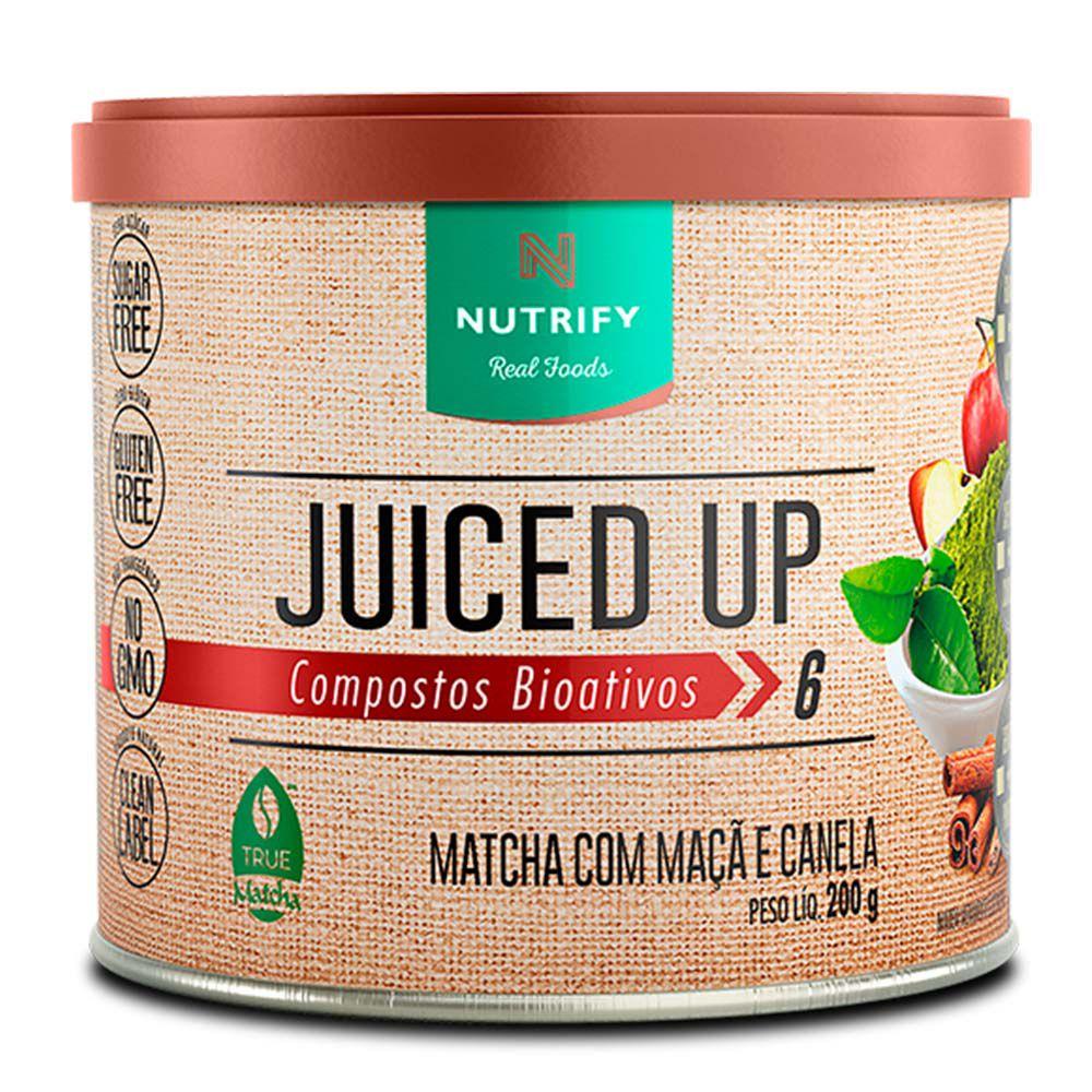 Juiced Up Matcha Com Maçã  200g - Nutrify  - KFit Nutrition