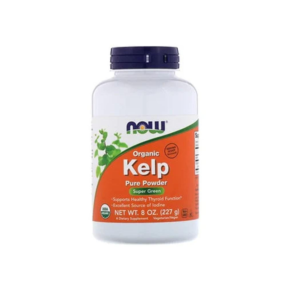 Kelp Premium em Pó 100% Puro 227G - Now  - KFit Nutrition