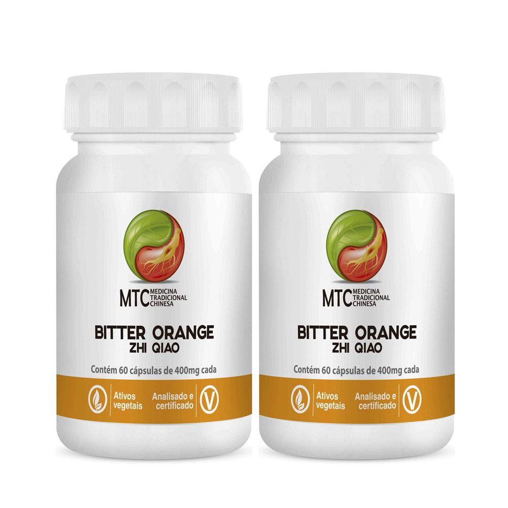 Bitter Orange - Zhi Qiao 60 Cápsulas Vitafor 2 unidades  - KFit Nutrition