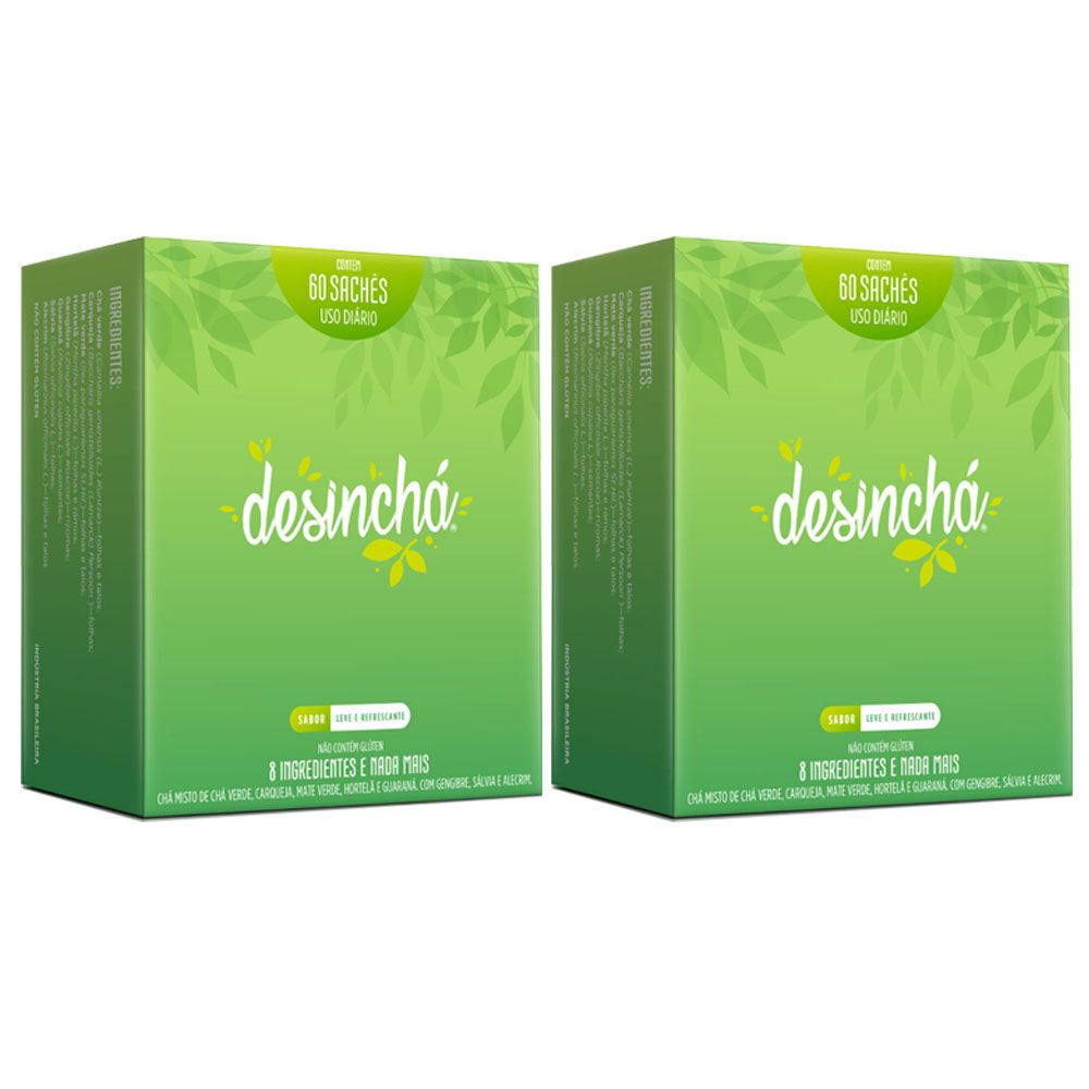 Kit Desinchá Dia -  2 Unidades  - KFit Nutrition