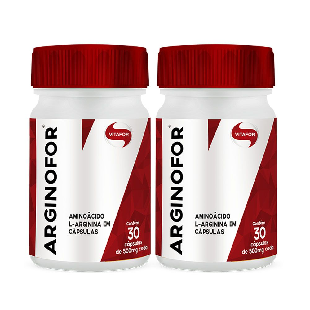 L-Arginina Vitafor 2 Un 30 CAPS  - KFit Nutrition