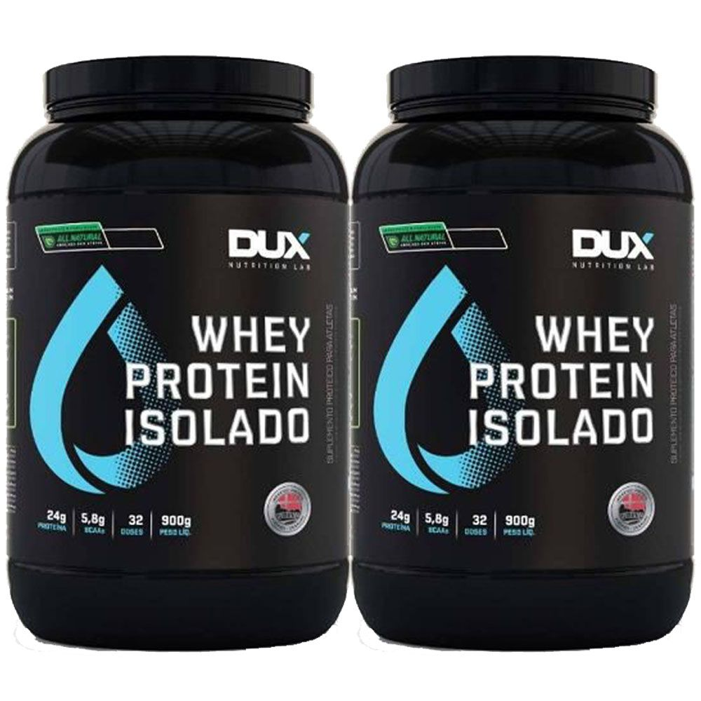 Whey Protein Isolado All Natural 900g Baunilha 2 Un  - KFit Nutrition