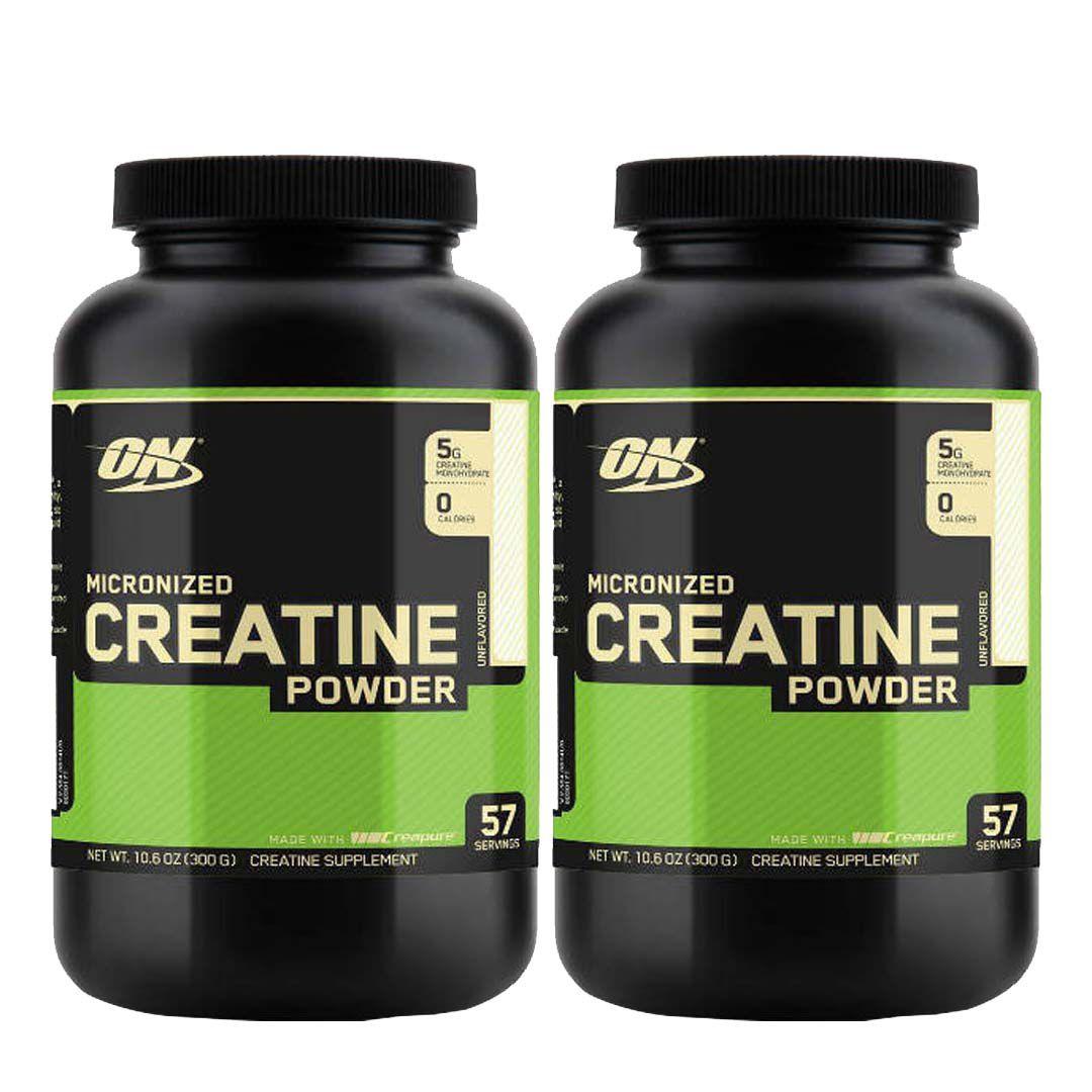 Creatina 300G Creapure 2un Optimun Nutrition  - KFit Nutrition