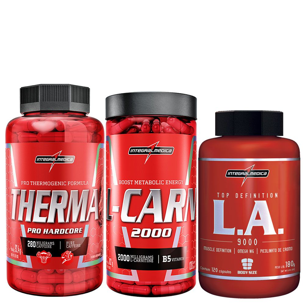 Therma Pro 60 Caps+ L-Carn 120 C+ La Top Definition 120 C  - KFit Nutrition