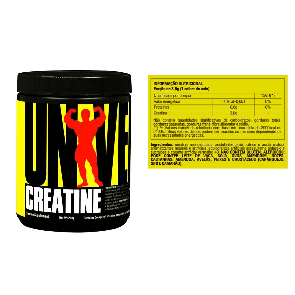Creatina Powder Creapure 200g 2 un  Universal  - KFit Nutrition