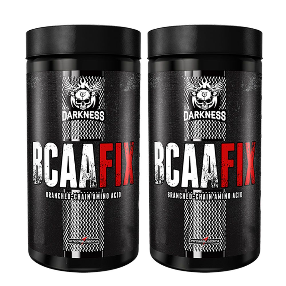 BCAA Fix Powder 240caps 2Un  Integral Medica  - KFit Nutrition