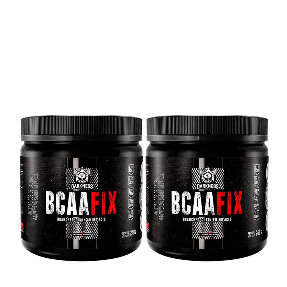 745576145 Kit Kfit 2x BCAA Fix Powder 240g Limonada Integral Medica