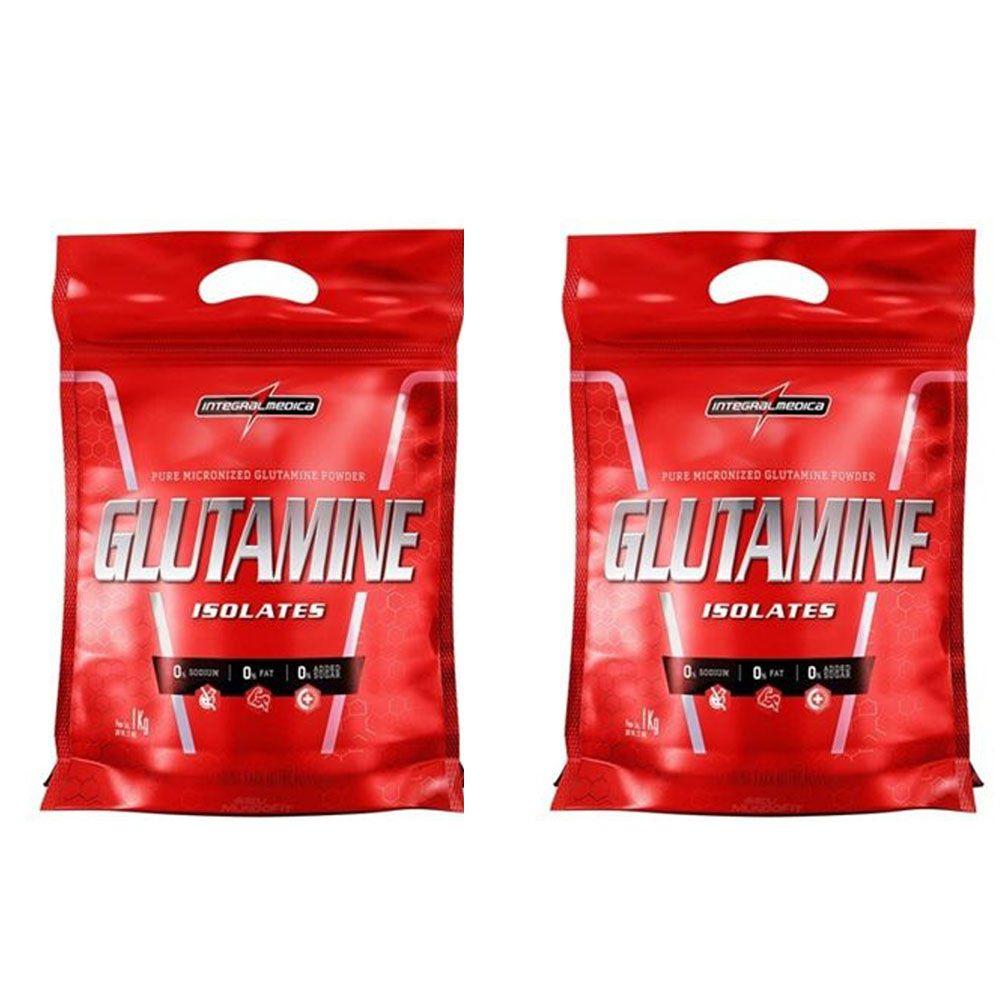 Glutamine 1kg 2Un  Integral Medica  - KFit Nutrition