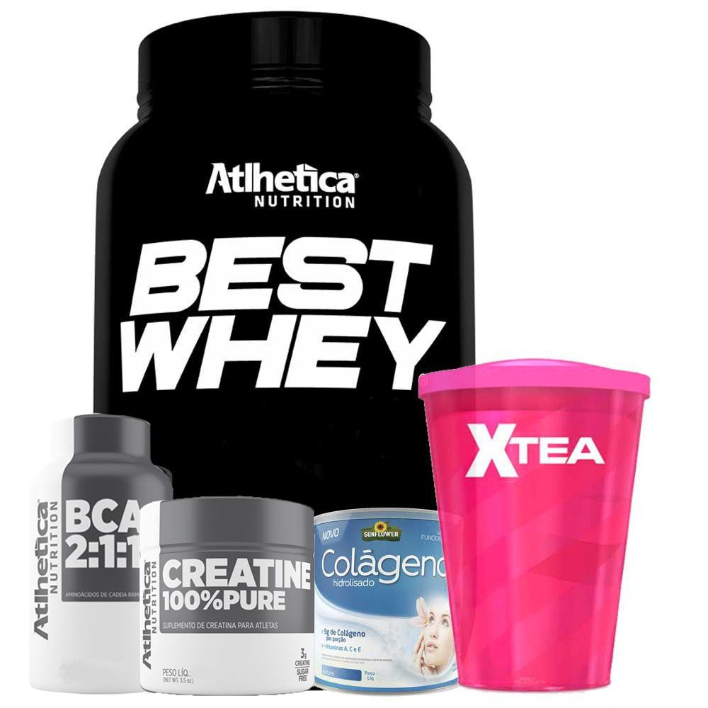 bd0a8fbc7 Kit Massa Magra Best Whey - Cookies e Cream