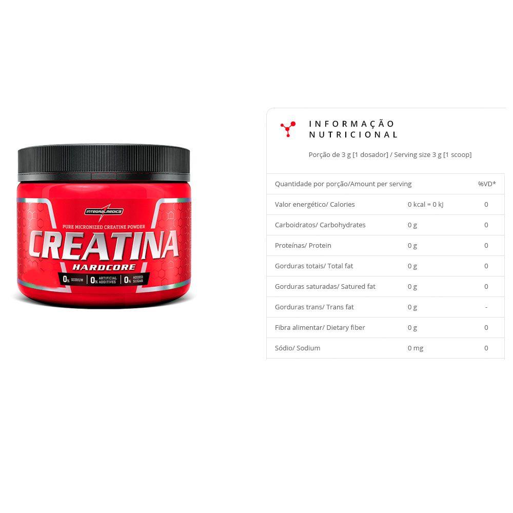 Super Whey Baunilha 100% 900G + Creatina 150G Integral Medica  - KFit Nutrition