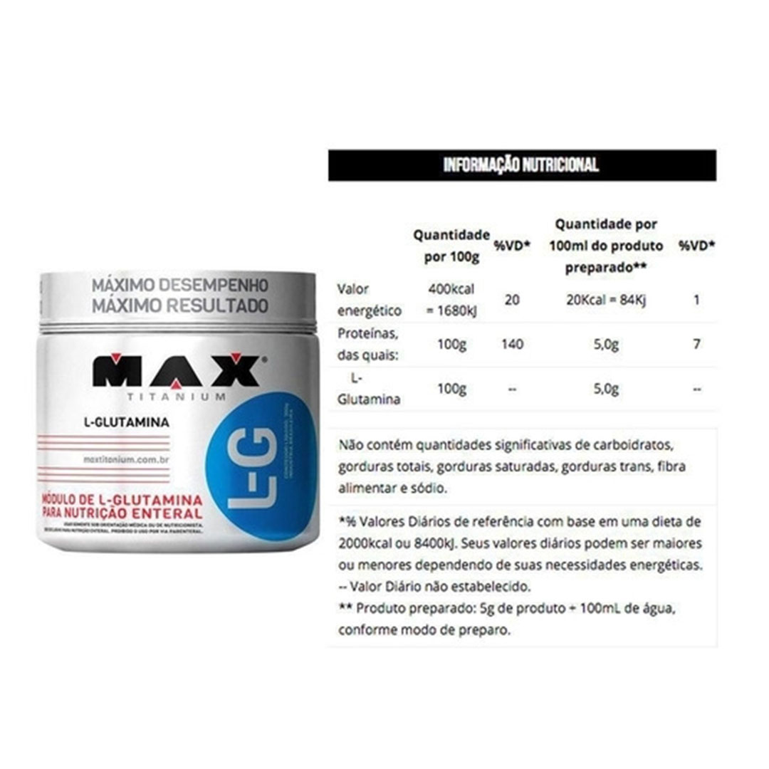 Kit Whey Concentrado Dux 900g Coco + L-glutamina 300g  - KFit Nutrition