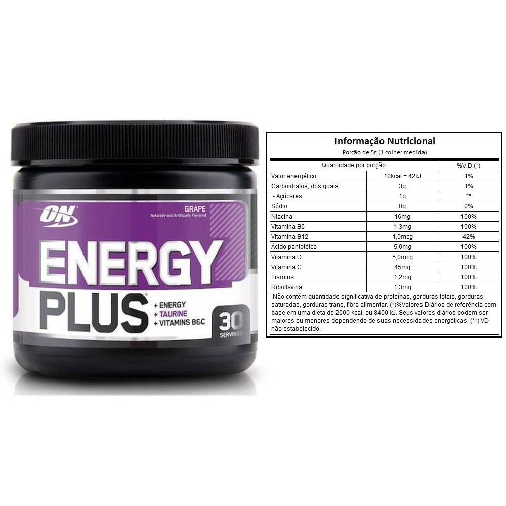 Whey Gold Standard 900g Baunilha + Energy Plus  - KFit Nutrition