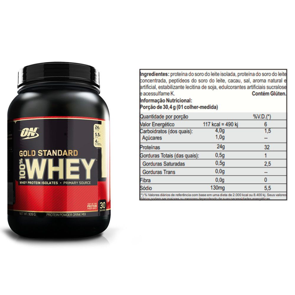 Whey Gold Standard 900g Double Rich + Energy Plus  - KFit Nutrition