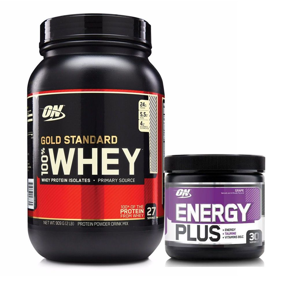 Whey Gold Standard 900g Rock Road + Energy Plus  - KFit Nutrition