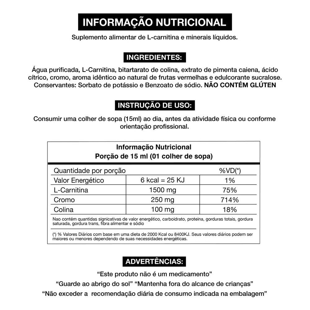 L-Carnitine Liquid Plus 450ml - Adaptogen  - KFit Nutrition