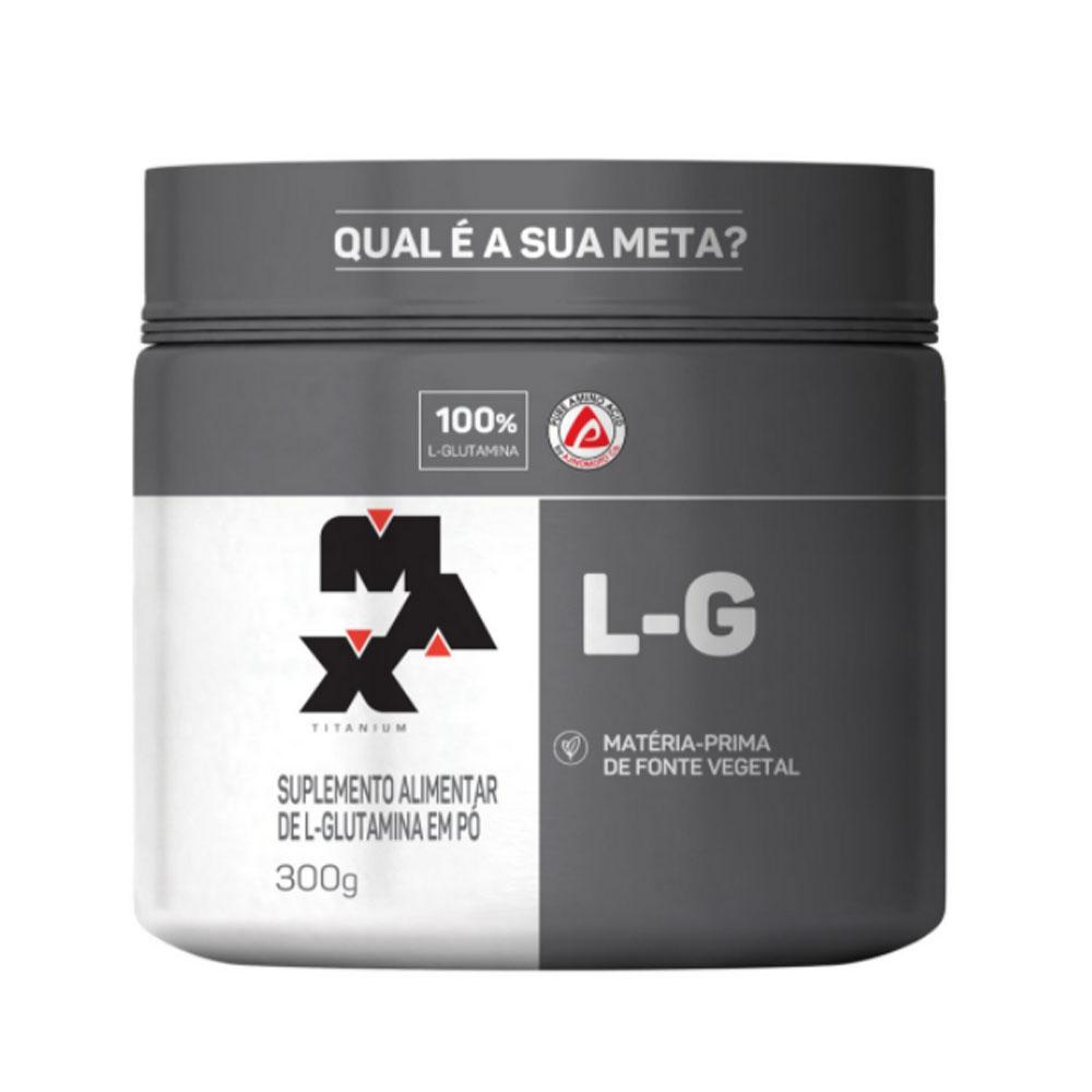L-G Glutamina 300g - Max Titanium  - KFit Nutrition