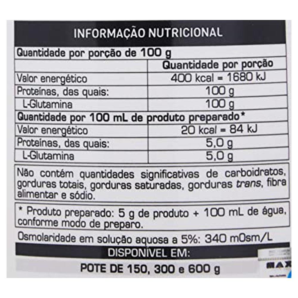 L-Glutamina  Max Titanium 300 G  - KFit Nutrition