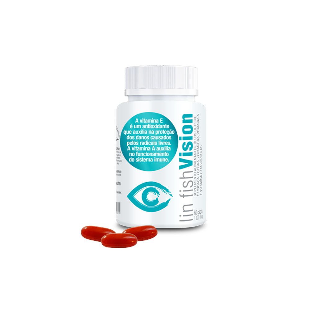 Lin Fish Vision 1G/2 Blister Vital Atman  - KFit Nutrition