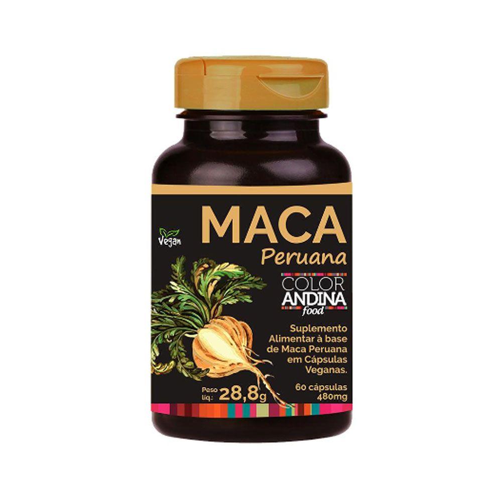 Maca Amarela 60 Capsulas - Color Andina  - KFit Nutrition