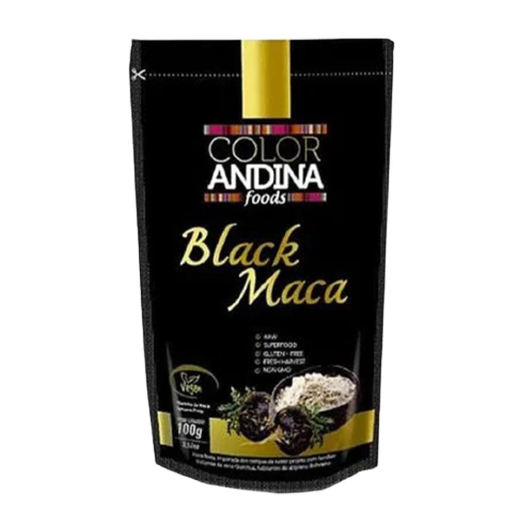 Maca Andina Negra (Black Maca) 100G Color Andina  - KFit Nutrition