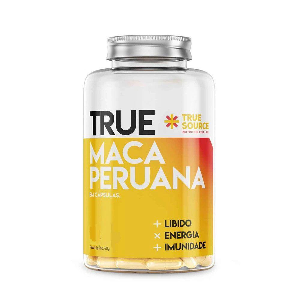 Maca Peruana 1000mg 60Caps - True Source  - KFit Nutrition