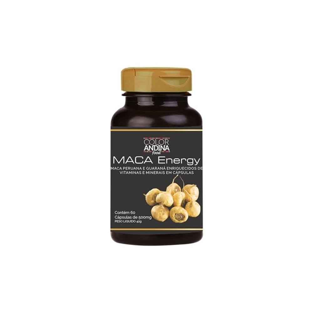 Maca Peruana Amarela e Guarana 60 Caps - Color Andina  - KFit Nutrition