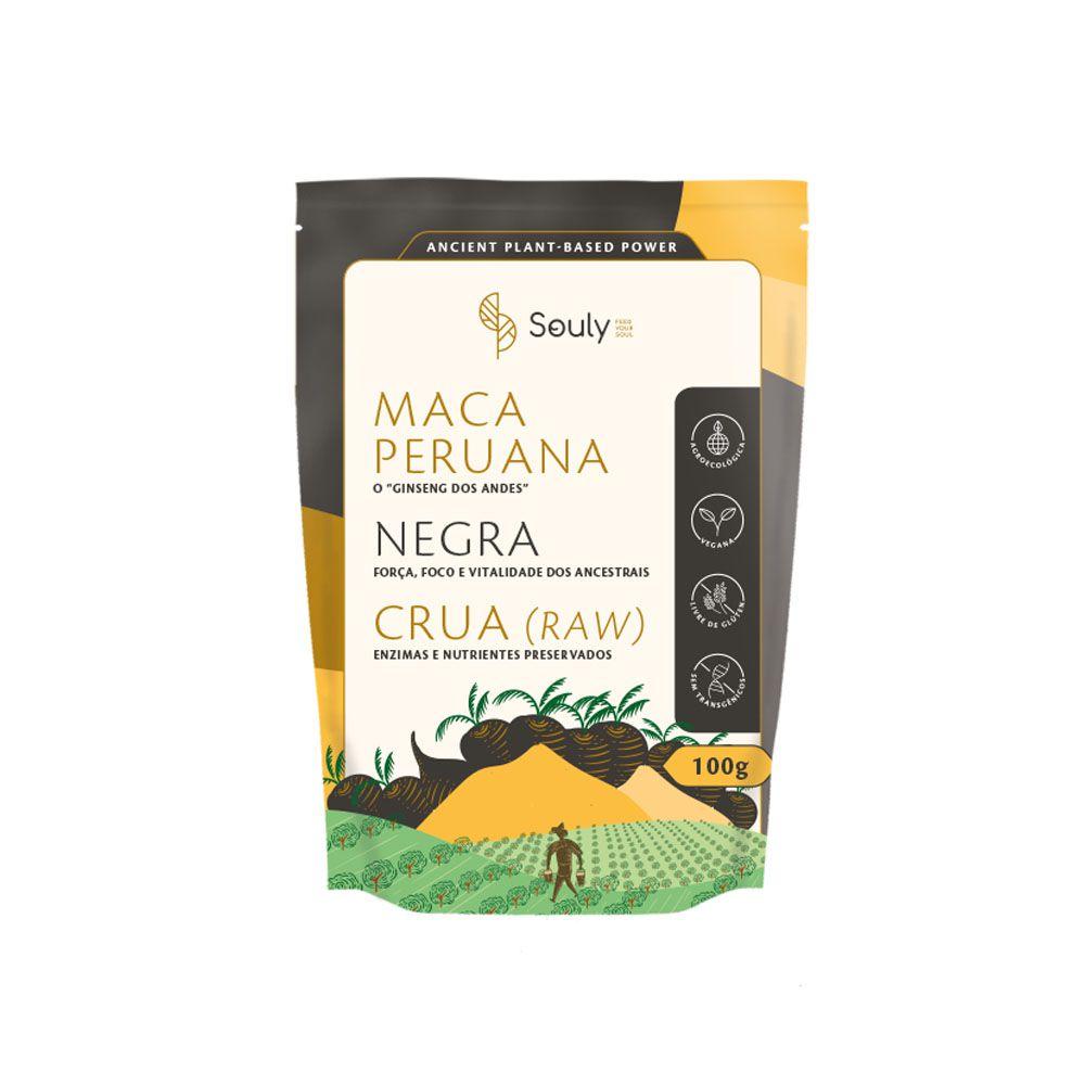 Maca Peruana Negra 100g - Souly  - KFit Nutrition