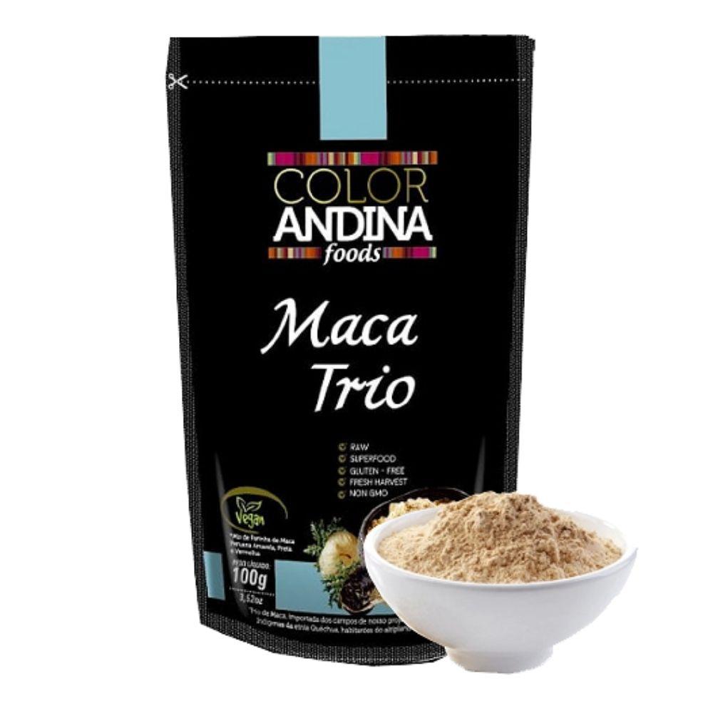 Maca Peruana Trio 100g - Color Andina  - KFit Nutrition