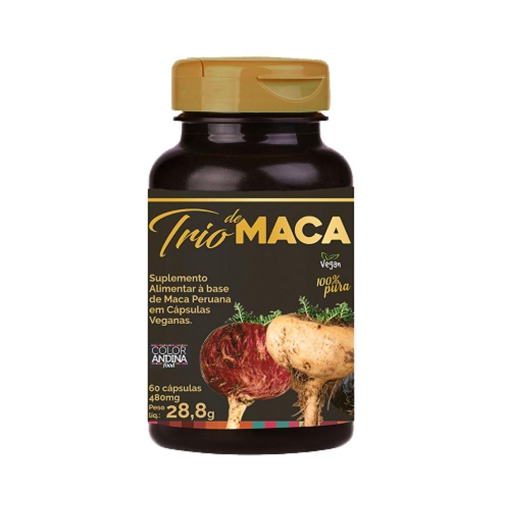 Maca Peruana Trio 60 Caps - Color Andina  - KFit Nutrition