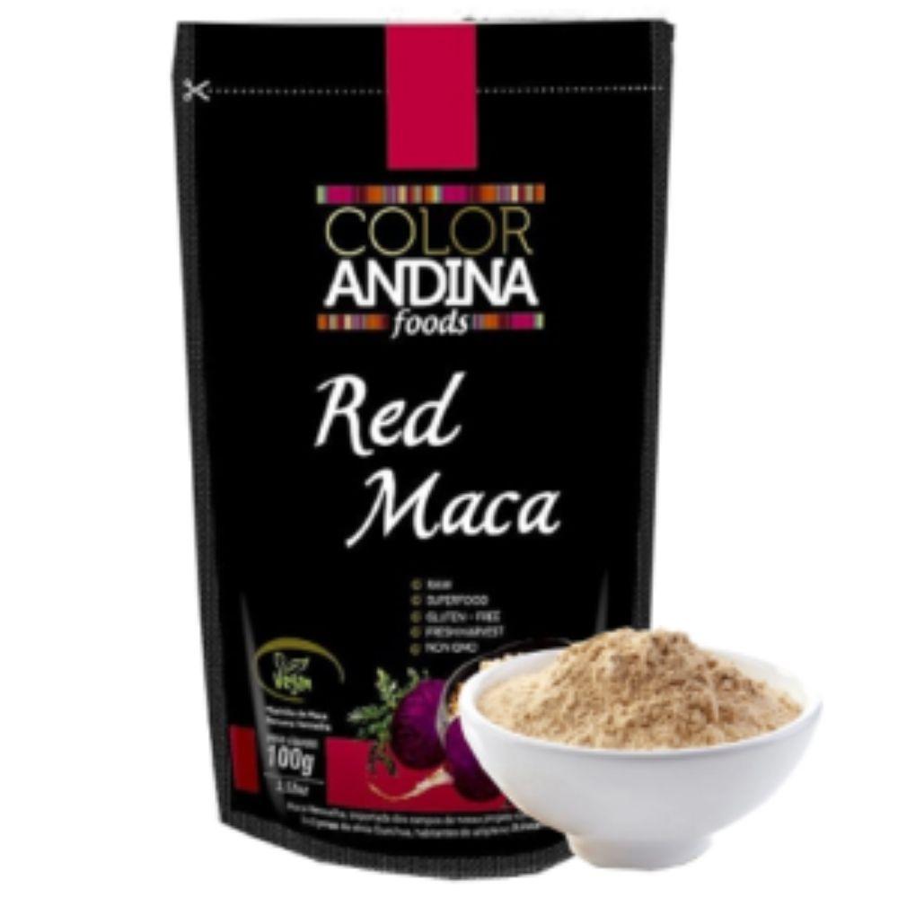 Maca Peruana Vermelha 100g - Color Andina  - KFit Nutrition