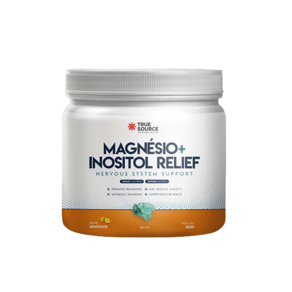 Magnésio Inositol Relief 300g Lemonade - True Source  - KFit Nutrition