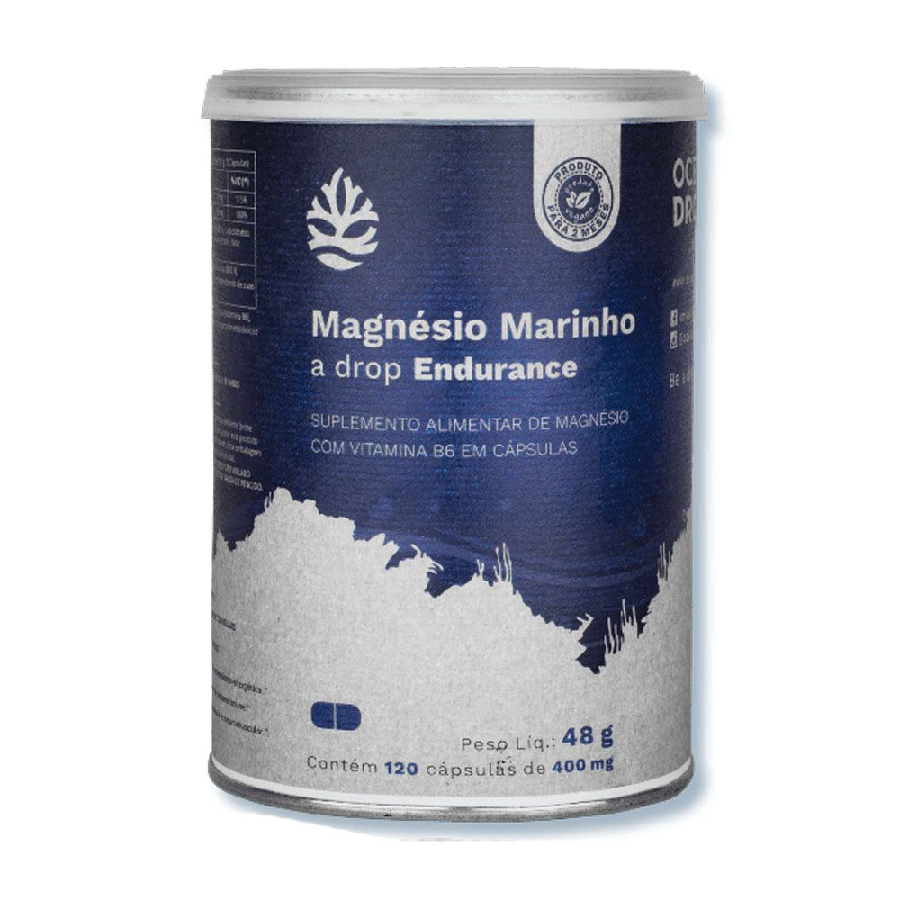 Magnésio Marinho 120 Caps Ocean Drop  - KFit Nutrition