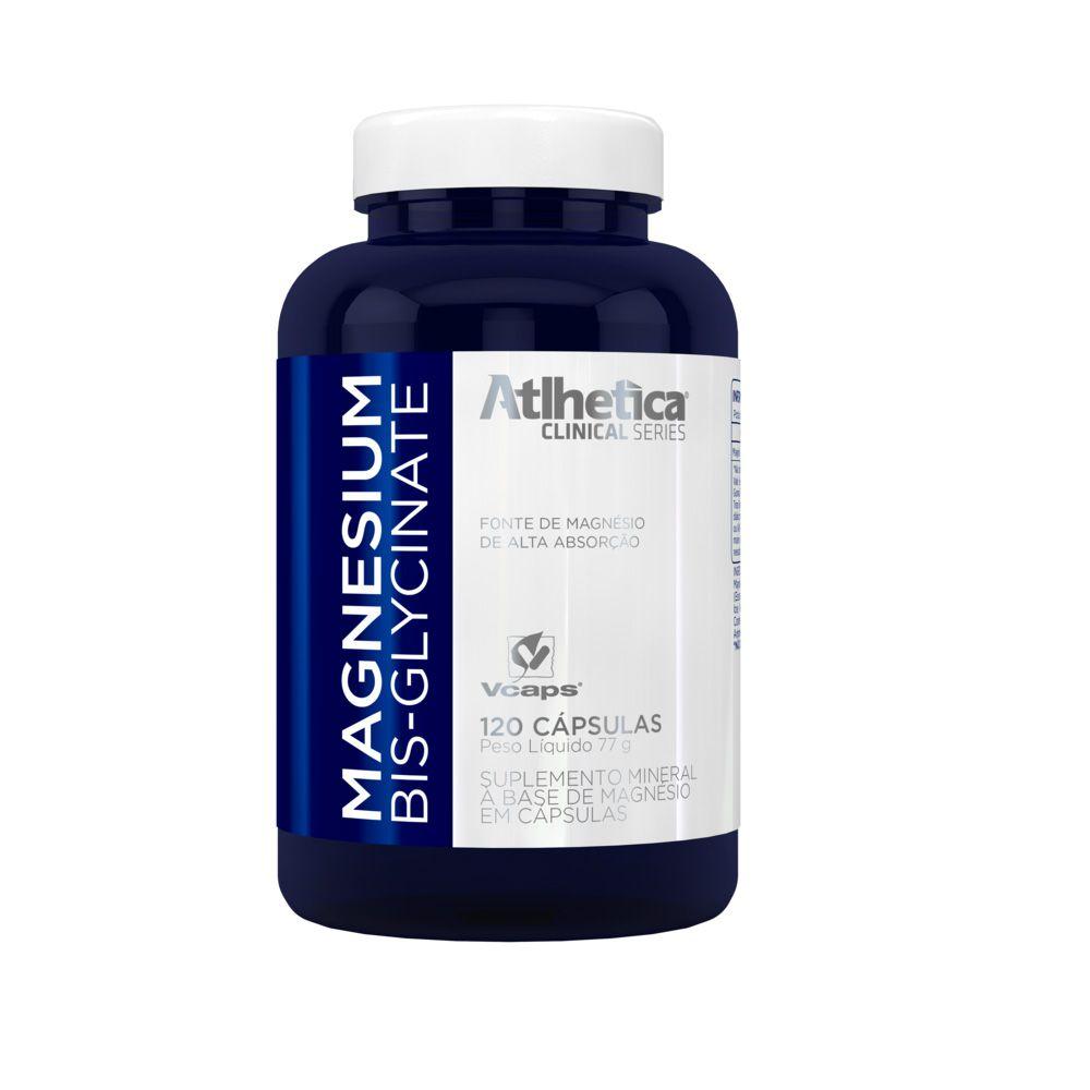Magnesium Bisglycinate 120 CAPS Atlhetica  - KFit Nutrition