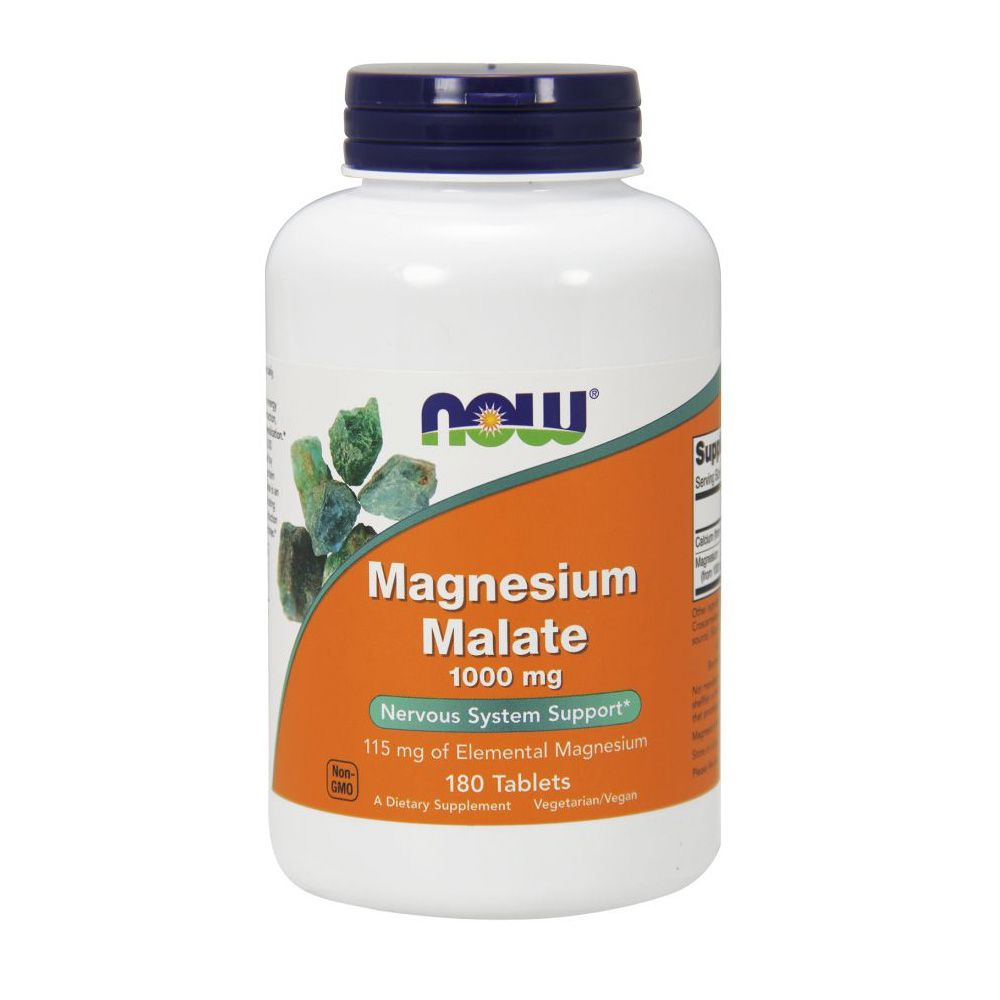 Magnesium Malate 180 Tab Now Sports  - KFit Nutrition