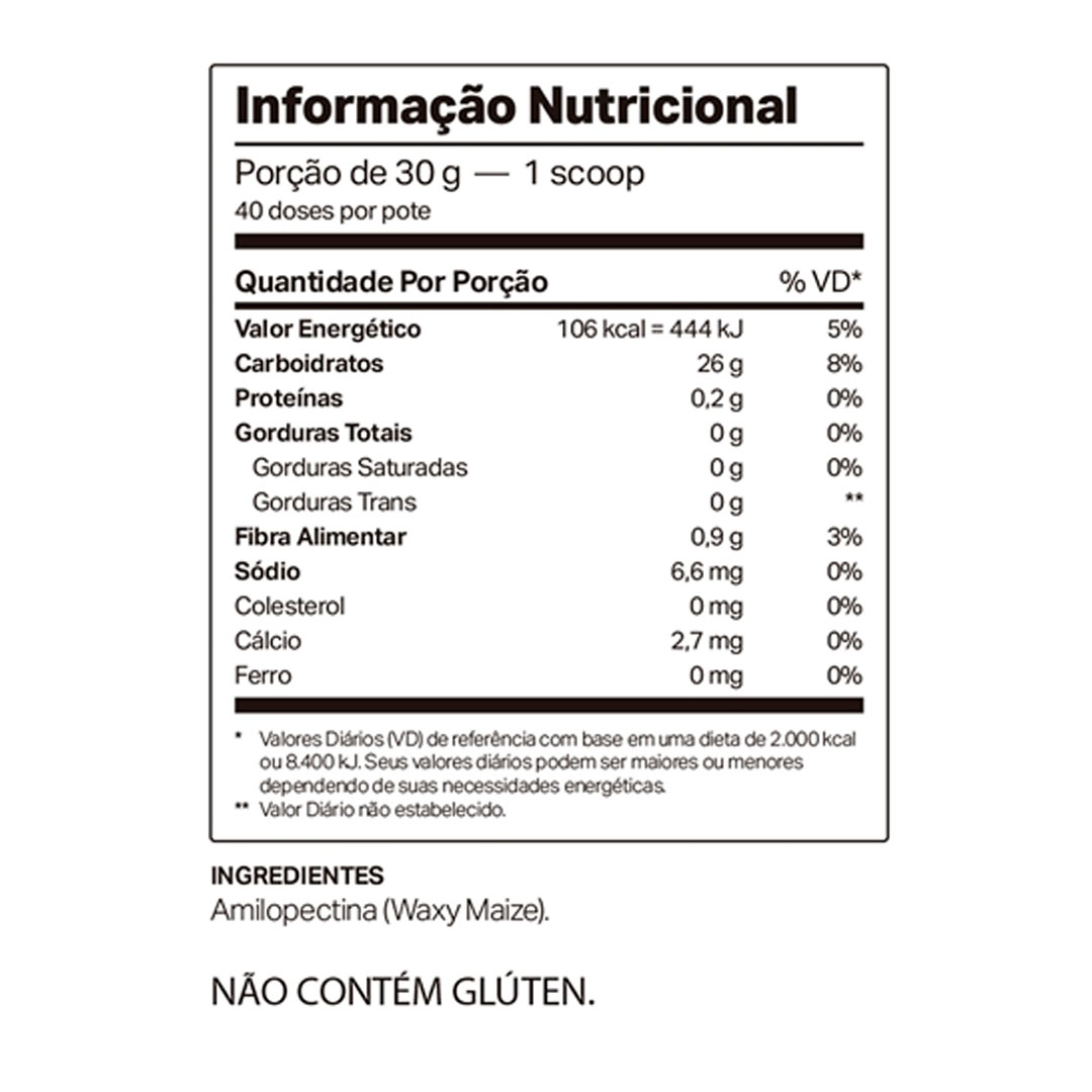 Maizedop Waxy Maize Natural 1200g  - KFit Nutrition