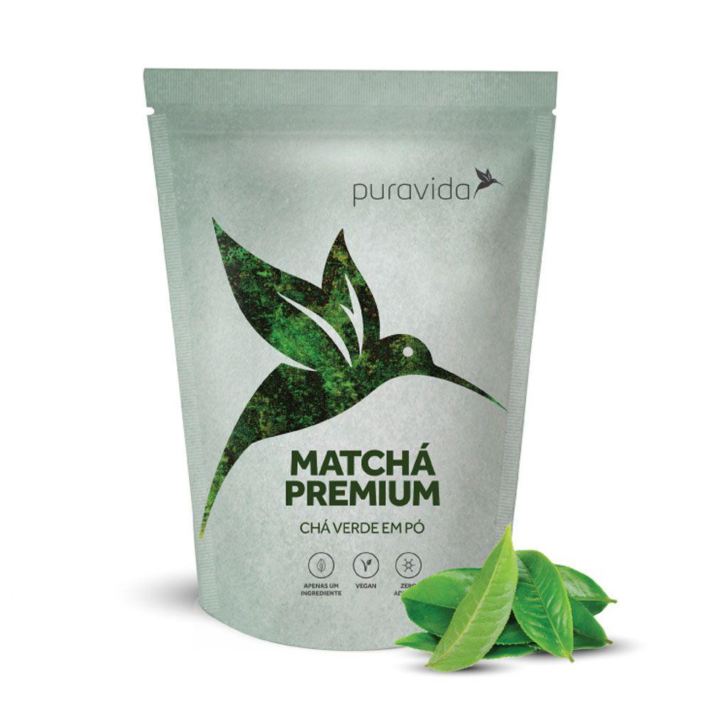 Matchá Premium 100g - Puravida  - KFit Nutrition
