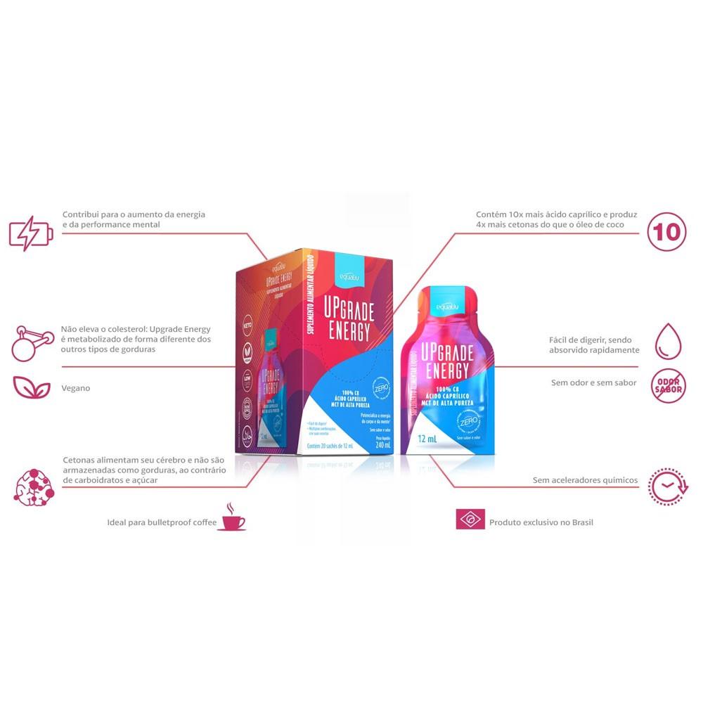 MCT UpGrade Energy 20 Sachê de 12ml - Equaliv  - KFit Nutrition