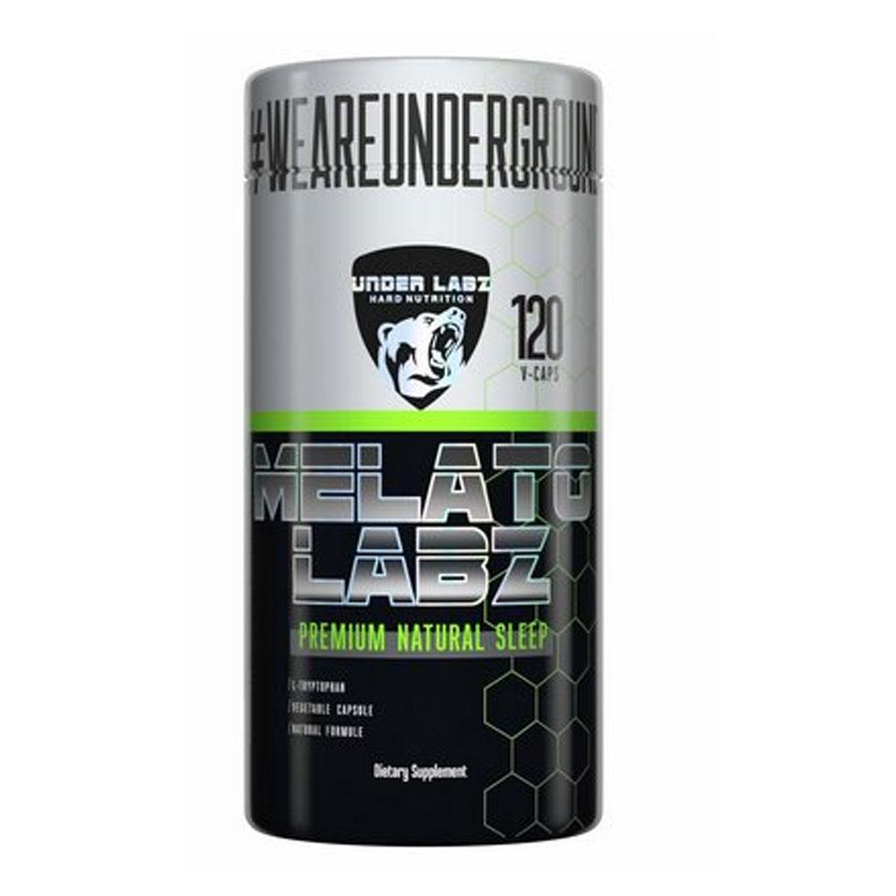 Melato Labz 120 Caps - Precursor de Sono Under Labz  - KFit Nutrition