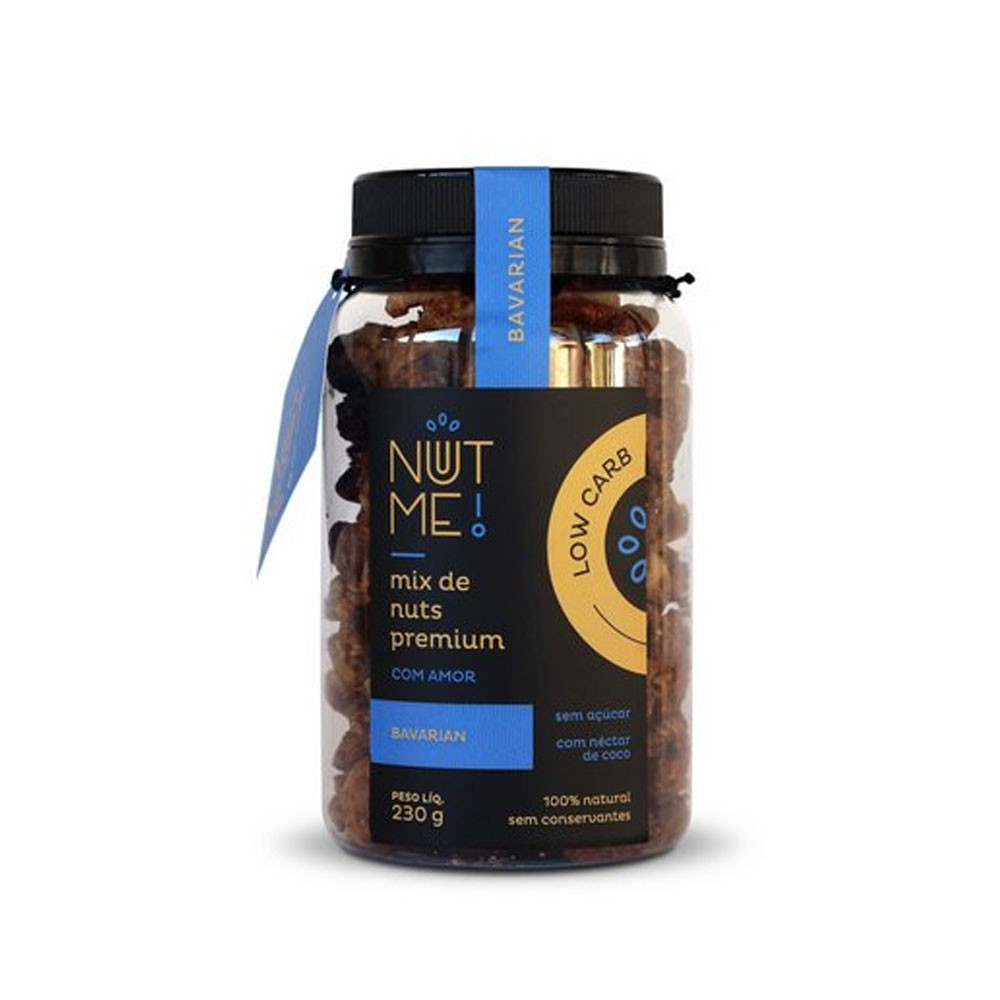 Mix de Nuts Premium Bavarian 230g Low Carb  - NUT ME  - KFit Nutrition